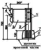 Мостовое ограждение барьерное 11-МО-1,0-250 кДж  У3