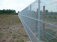 Сетчатые ограждения 3D (ширина 2,5 метра); Высота забора 2 метра; Диаметр проволоки 4 мм