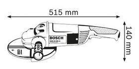Угловая шлифмашина Bosch GWS 24-230 H Professional - фото 4