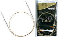Спицы Addi,супергладкие,никель,№7,100 см