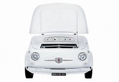 Минибар в стиле автомобиля фиат Smeg SMEG500B