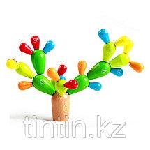 Деревянная развивающая игра - «Балансирующий кактус», фото 2