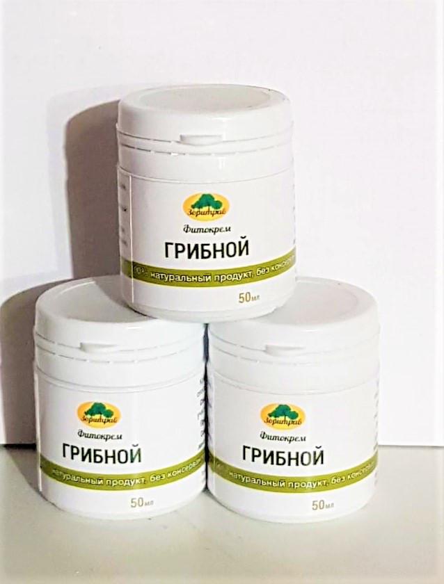 Фитокрем Грибной (с трутовиком), 50мл