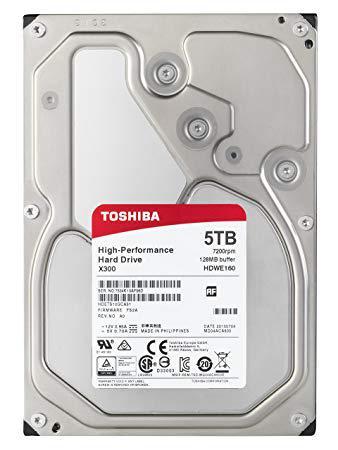 TOSHIBA Жесткий диск HDD 5Tb HDWE150EZSTA