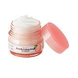 SKINFOOD Premium Peach Cotton Cream Крем с экстрактом персика для контроля жирности кожи, фото 2