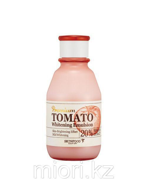 SKINFOOD Premium Peach Cotton Emulsion Эмульсия с экстрактом персика для контроля жирности кожи