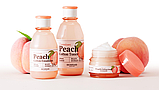 SKINFOOD Premium Peach Cotton Emulsion Эмульсия с экстрактом персика для контроля жирности кожи, фото 3
