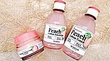 SKINFOOD Premium Peach Cotton Emulsion Эмульсия с экстрактом персика для контроля жирности кожи, фото 4
