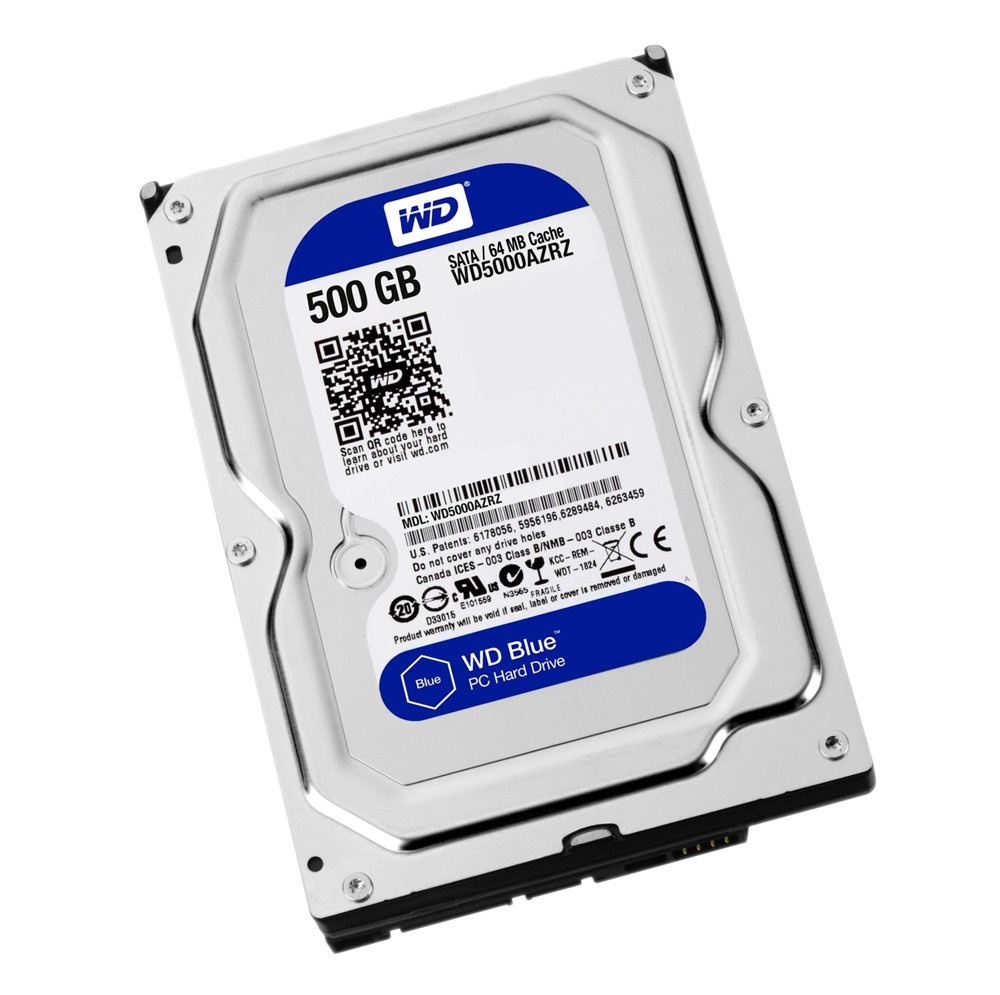 Western Digital Жесткий диск HDD  500Gb WD5000AZRZ