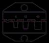 Пресс-клещи CTF с набором матриц, фото 8