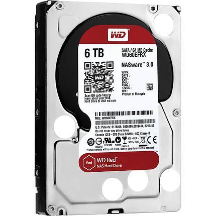 Western Digital Жесткий диск для NAS систем HDD 6Tb WD60EFRX, фото 2