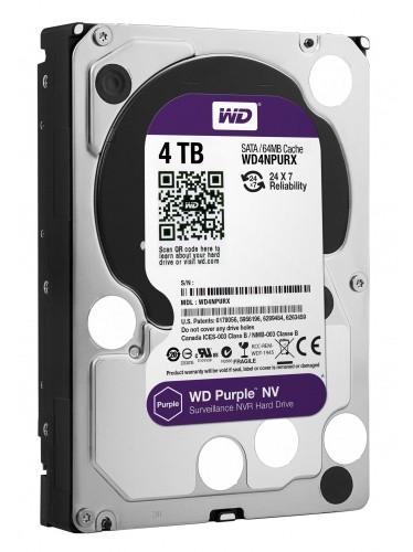 Western Digital Жесткий диск для видеонаблюдения HDD 4Tb WD40PURZ