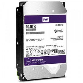 Western Digital Жесткий диск для видеонаблюдения HDD 10Tb WD100PURZ