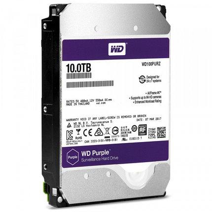 Western Digital Жесткий диск для видеонаблюдения HDD 10Tb WD100PURZ, фото 2