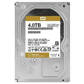 Western Digital Жесткий диск повышенной надежности для ЦОД HDD 4Tb WD4002FYYZ