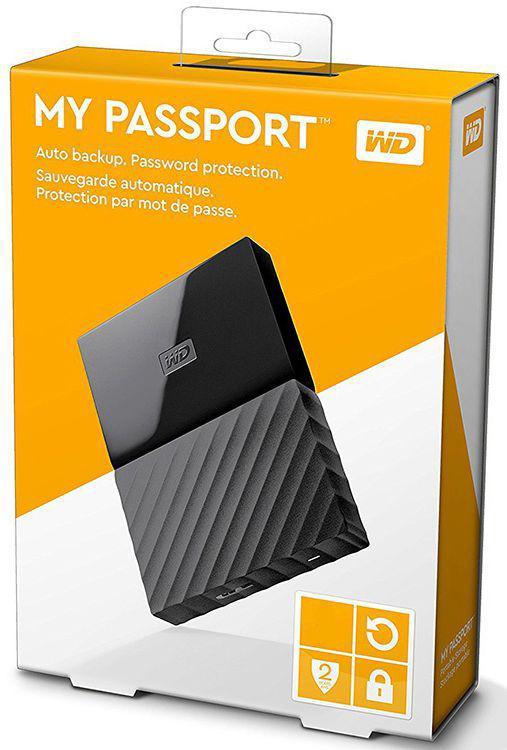 Western Digital Внешний HDD 1Tb WDBBEX0010BBK-EEUE