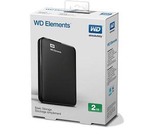 Western Digital Внешний HDD 2Tb WDBU6Y0020BBK-WESN