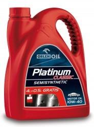 Высококачественное европейское моторное масло PLATINUM CLASSIC SEMISYNTH 10W40, 1L