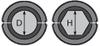 Матрица шестигранная МШ-44,2-А/60т для алюминиевого зажима, фото 2