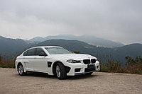 Полный обвес Hamann Mission II на BMW 5 (F10), фото 1