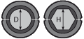Матрица А-51/60т для алюминиевого зажима