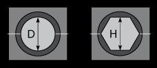 Матрица МШ-43,3-А/100т для алюминиевого зажима