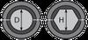 Матрица шестигранная МШ-43,3-А/60т для алюминиевого зажима, фото 2