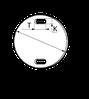 Бирка маркировочняа круглая У 135, фото 2