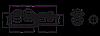 Соединитель болтовой переходный 4ПСБЕ — 70-120/ 150-240, фото 2