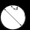 Бирка маркировочняа круглая У 135М, фото 2