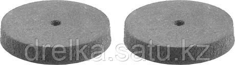 Круг STAYER шлифовально-полировальный, резина,карбон, d 22мм, 2шт, фото 2
