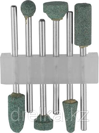 Набор STAYER: Насадки шлифовальные абразивные с оправкой, карбид кремния, 6шт , фото 2
