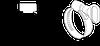 Хомут червячный PLB-9(30-45)/W2, фото 2
