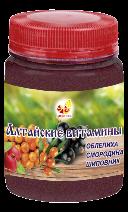 Алтайские витамины: облепиха, смородина, шиповник, 100г