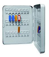 Металлическая ключница КС-48 используется для хранения 48 ключей.