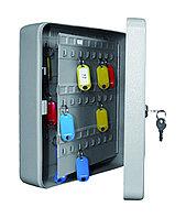 Металлическая ключница КС-96 используется для хранения 96 ключей.