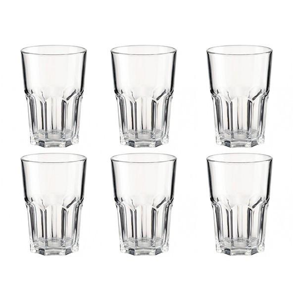 Набор стаканов New America высокие 350 мл. на 6 персон