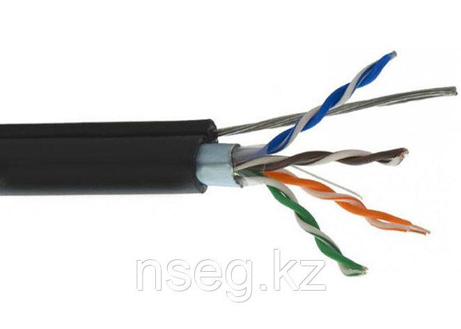 Паритет ParLan U/UTP Cat 5e  4*2*0,52 кабель (провод) внешней прокладки, черный, фото 2