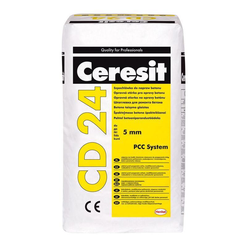 Финишная шпаклевка для бетона CD 24 REPAIR MORTAR
