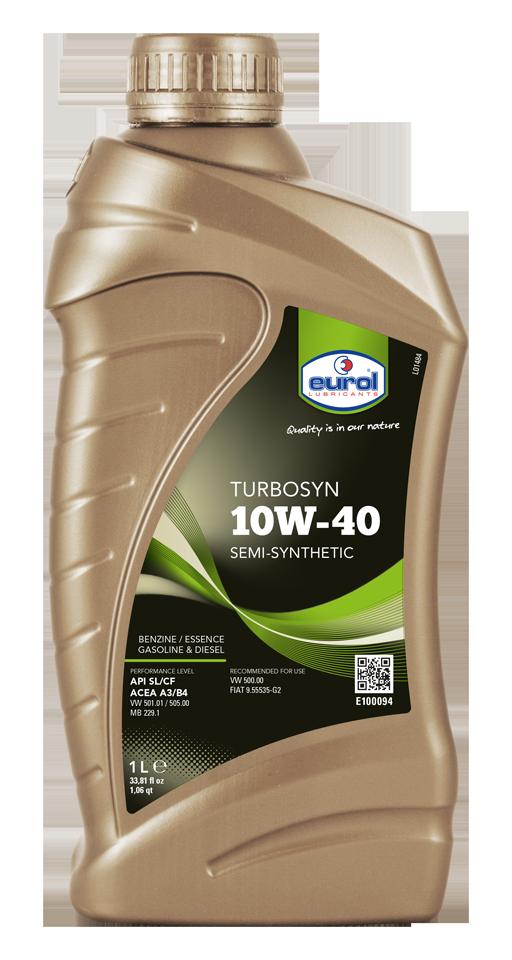 Моторное масло EUROL TURBOSYN 10W-40 1L.