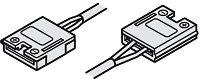 Соединительный кабель с клипсами для LED ленты 12 V (10 мм), длина 1 м, фото 1