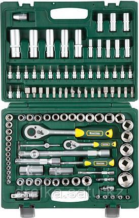 KRAFTOOL X-Drive 108 универсальный набор инструмента 108 предм., фото 2