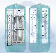 Термометр с гигрометром ВИТ