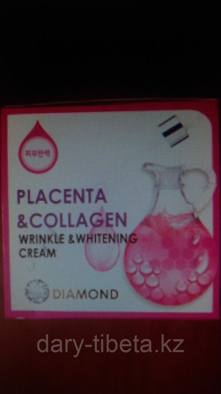 Diamond Wrinkle and Whitening Cream Placenta and Collagen-Отбеливающий крем от морщин