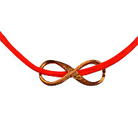 Красная нить браслет с подвеской