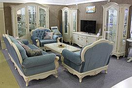 """Комплект мягкой мебели """"Александрит"""" из массива древесины"""