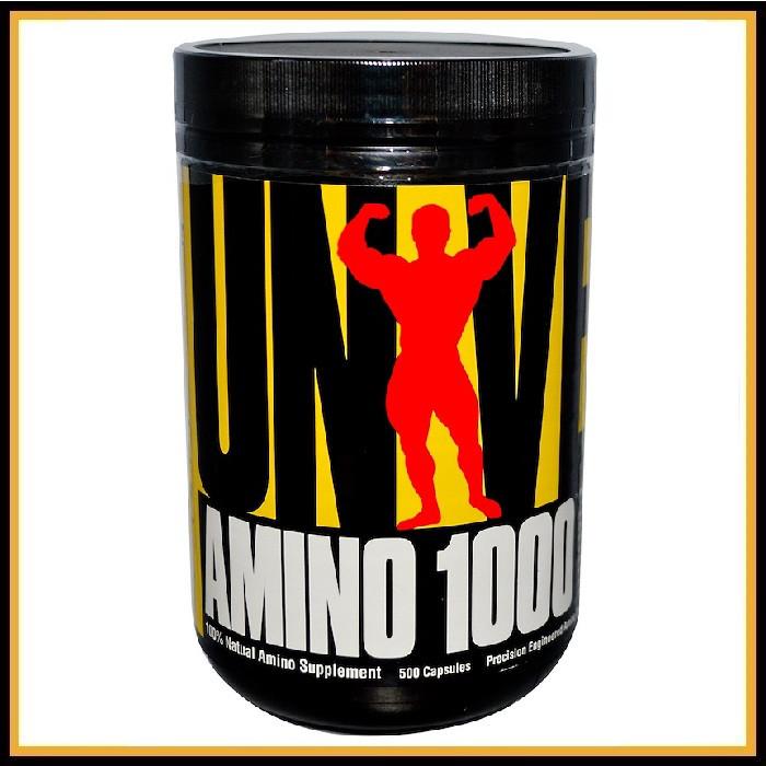 Universal Nutrition Amino 1000 (500 капсул)