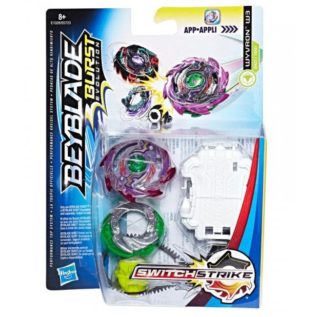 Hasbro Bey Blade Switchstrike Волчок Бейблэйд Wyvron W3