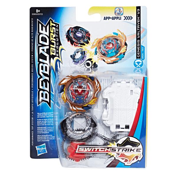 Hasbro Bey Blade Switchstrike Волчок Бейблэйд Genesis Valtryek V3