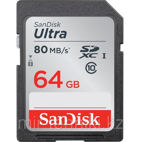 SanDisk Ultra SDXC UHS 64Gb 80 MB/s